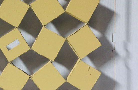 Parametric Fabrication 2_2018, Shuyan Bai, Shuhui Li, Qiaoyang Zhao